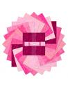 tkaniny różowe
