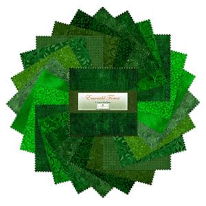 tkaniny zielone