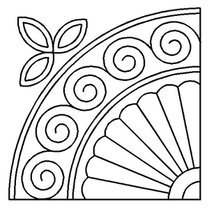 Quilting stencil