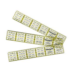 Inch rulers